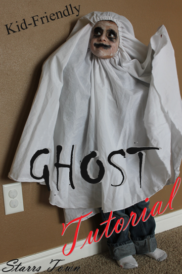 Ghost costume for kids