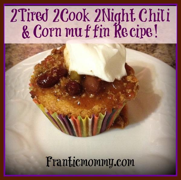 cornbread chili muffin