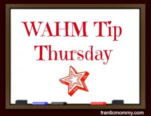 WAHM Tip Thursday