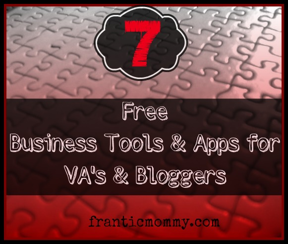 7 Free Business Tools for Writer, Bloggers, Virtual Assistants and Freelancers
