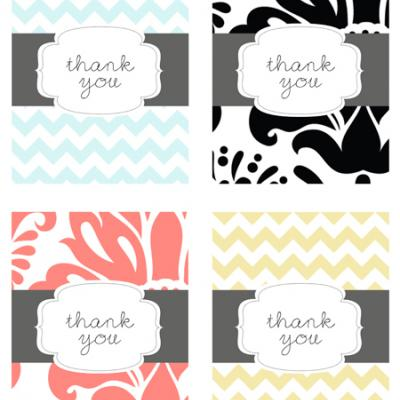 Printable Thank Yous