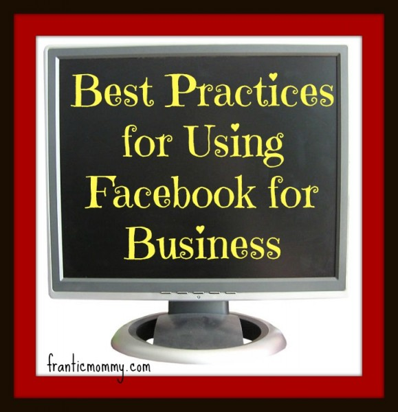 Best Practices for Using Facebook for Business