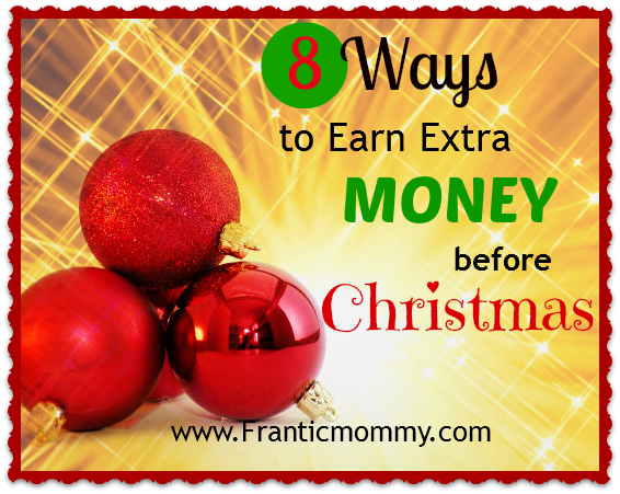 8 Ways to Earn Extra Money for Christmas