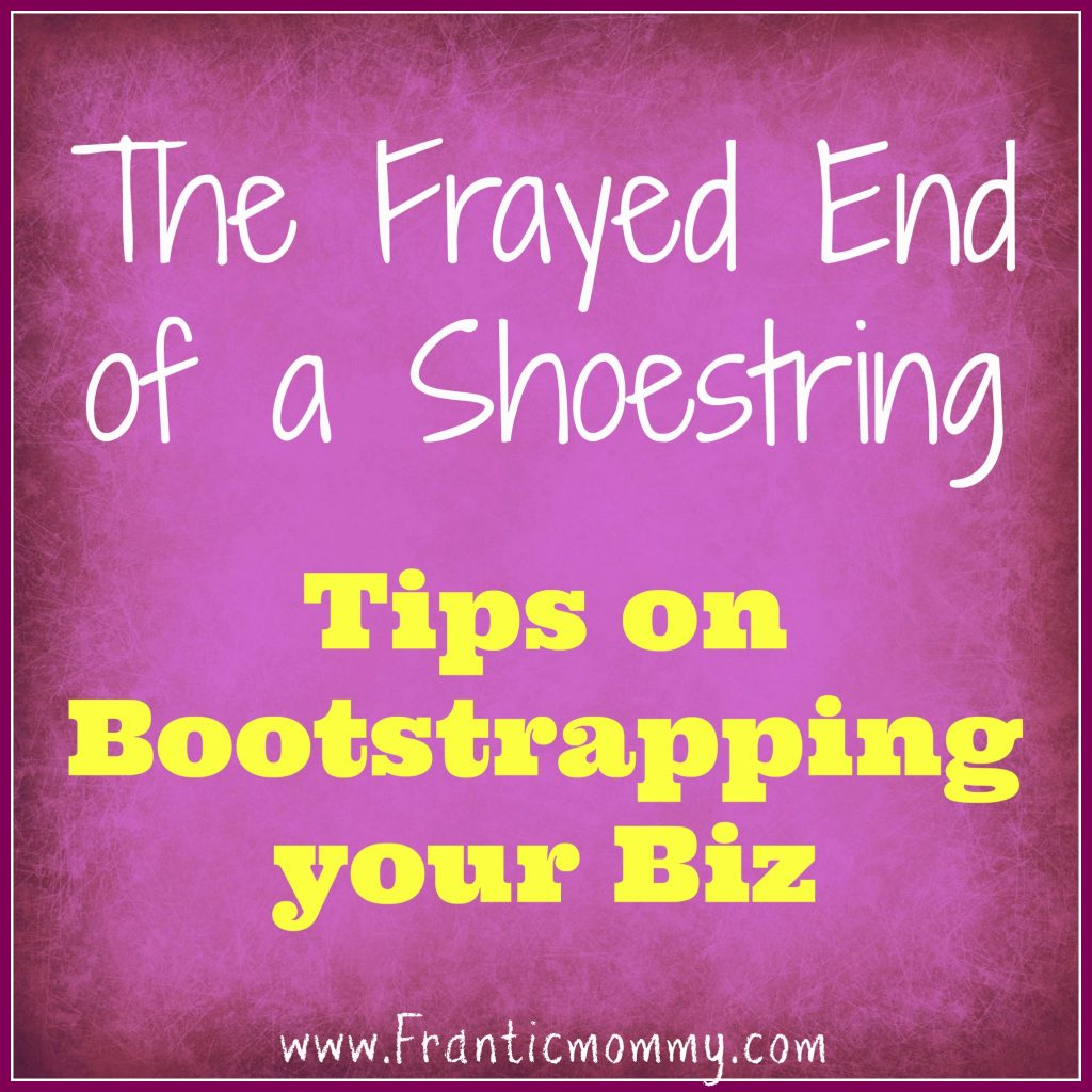Bootstrapping your biz