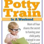Potty Train in a Weekend eBook SALE!