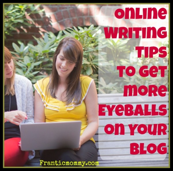 Online Writing Tips to Get more Traffic to Your Blog