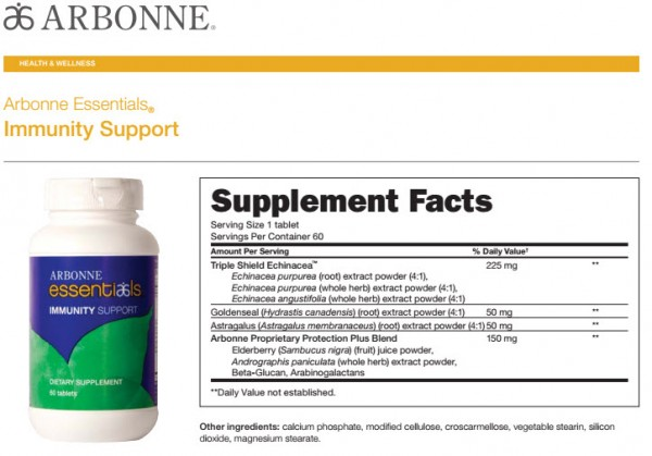 Arbonne Immunity Booster