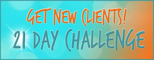 Get New Clients 21 Day Challenge