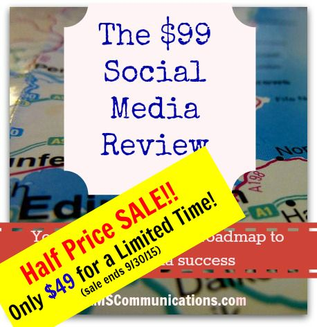 Social Media Review Half Price Sale