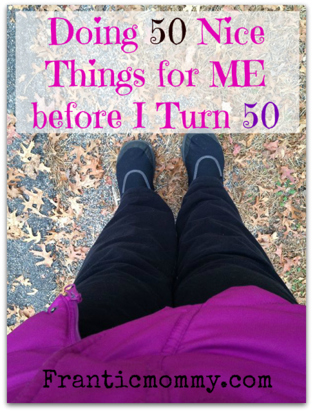 50 Nice things for Me