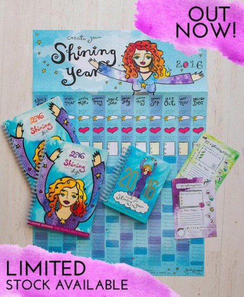 Leonie Dawson Create Your shining Life workbook
