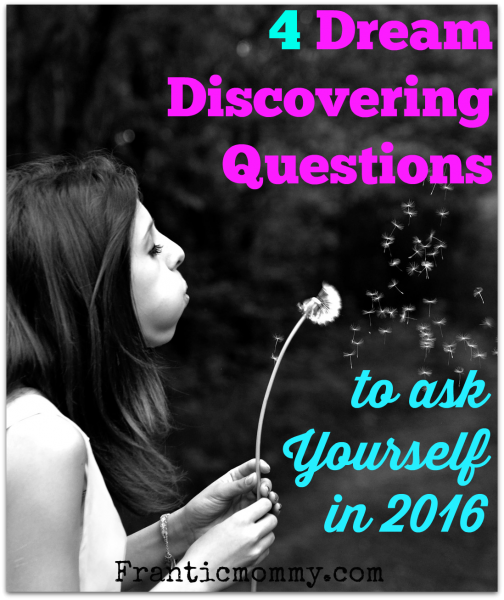 Dream Discovering Questions