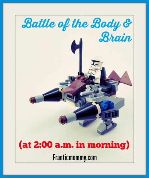 battle of the body and brain