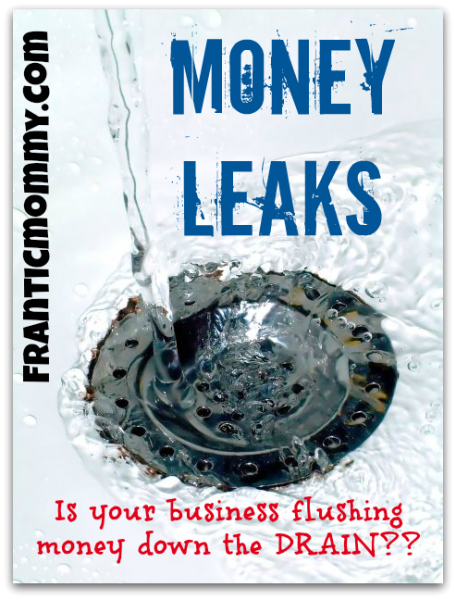 Money Leaks: Is your business income trickling away?