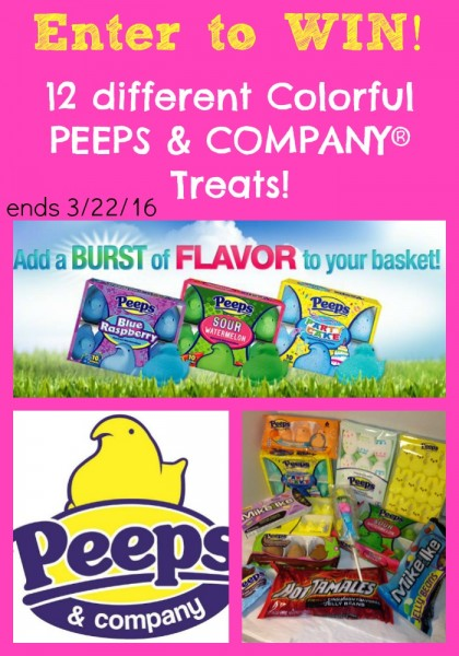 Colorful PEEPS & COMPANY® Treats