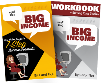 Small blog BIG income