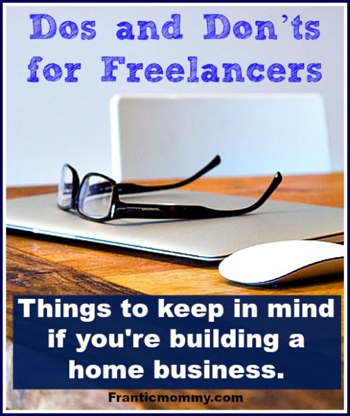 Dos and Don'ts: Tips for Freelancers and Solopreneurs