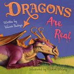 I just received the most beautiful picture book #DragonsAreReal