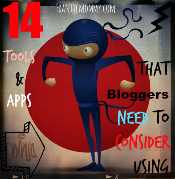 Ninja tools for bloggers