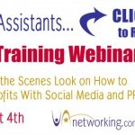 FREE 90 Minute Virtual Assistant Social Media Training at VANetworking!