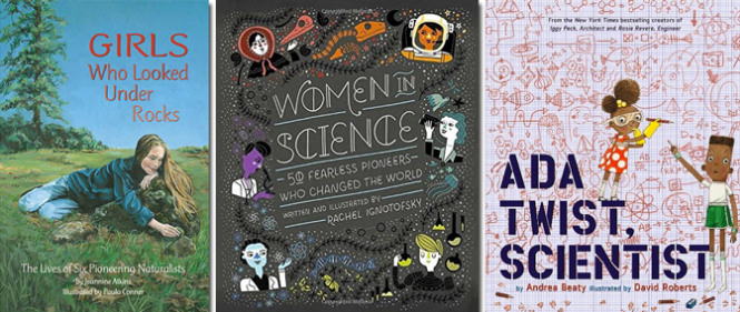 Kidlit science books