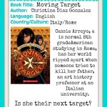 MKB Read Around the World Summer Reading Series review of Moving Target