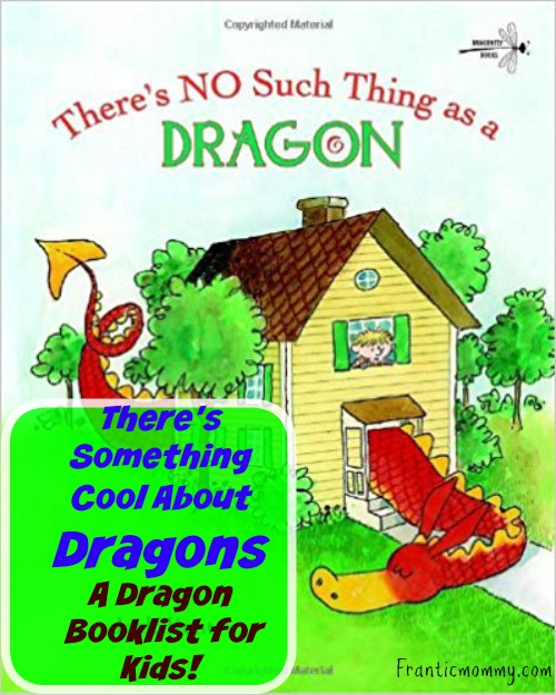 There's Something Cool About Dragons | A Dragon #PictureBook Booklist!