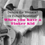 Dennis the Menace? Or Future Scientist? | When you have a Tinker Kid