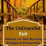 The UnGraceful Exit | How to Not Burn the Bridge when leaving a Job