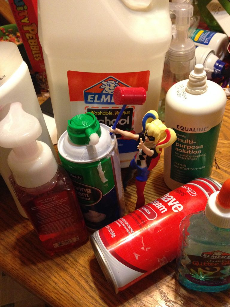 slime making supplies