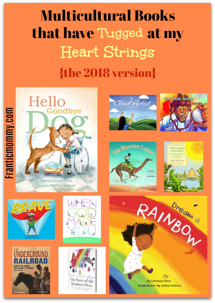 Multicultural Books that have Tugged at my Heart Strings (the 2018 Version)
