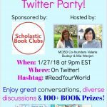 How to Participate in the 2018 Multicultural Children's Book Day Twitter Party #ReadYourWorld