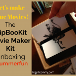 Let's make some Movies! | FlipBookit Movie Maker Kit Unboxing