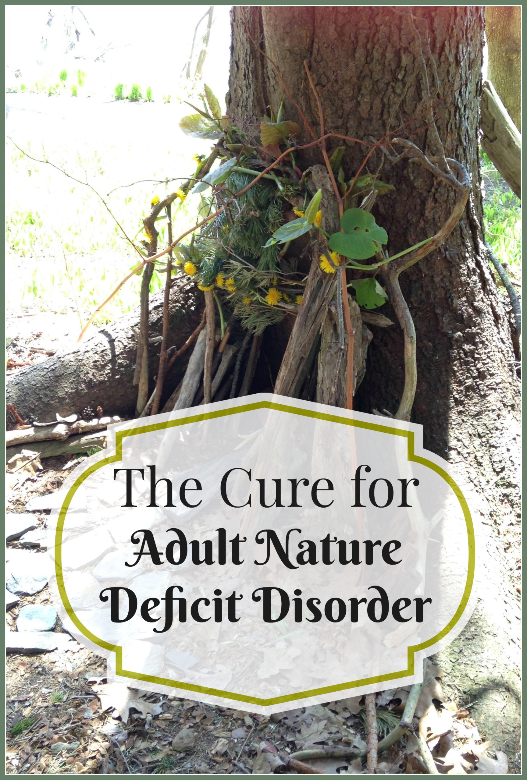 Adult Nature Deficit Disorder…and the Cure #GetOutside