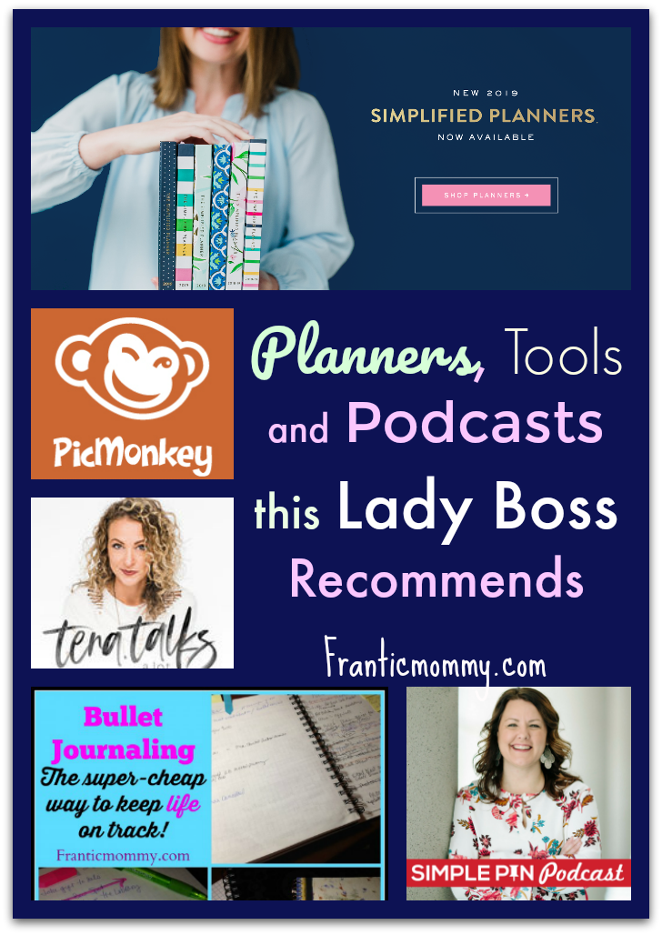 Planners, Resource Bundles and Podcasts this Lady Boss Recommends