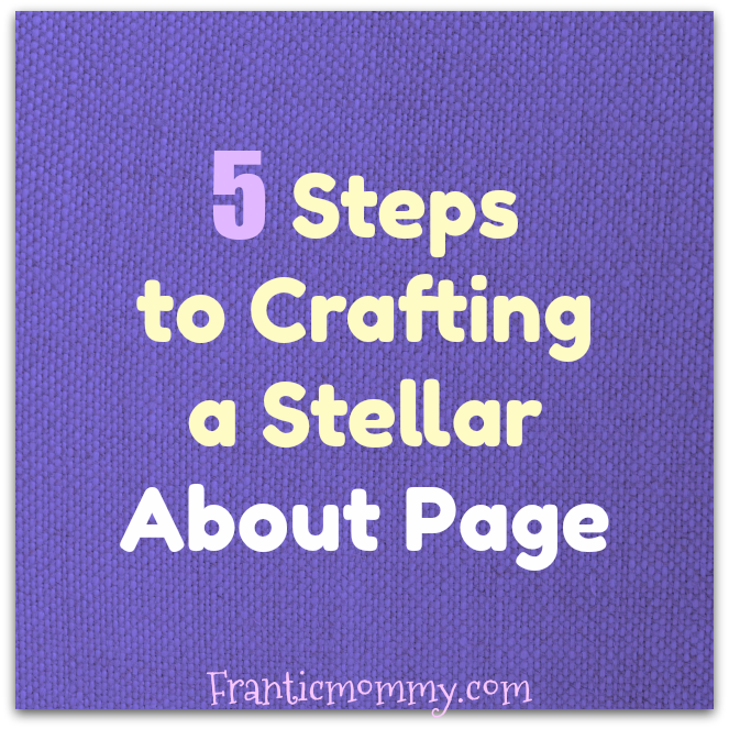 5 Steps to Writing an About Page