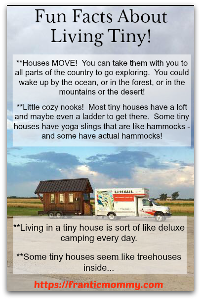 fun facts about living tiny