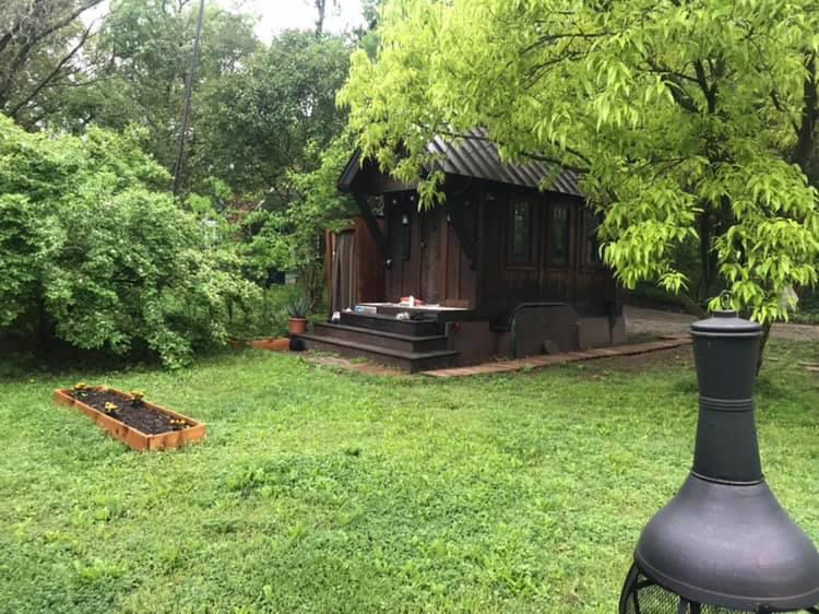 author B.A. Norrgard's Tiny House, Sisu