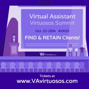 #VAVS Virtual Assistant Virtuosos Summit