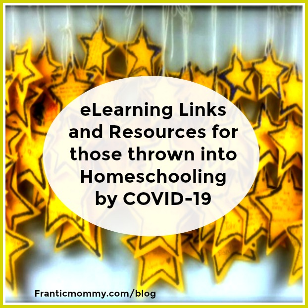 e-Learning Links and Resources for those thrown into Homeschooling by #COVID19