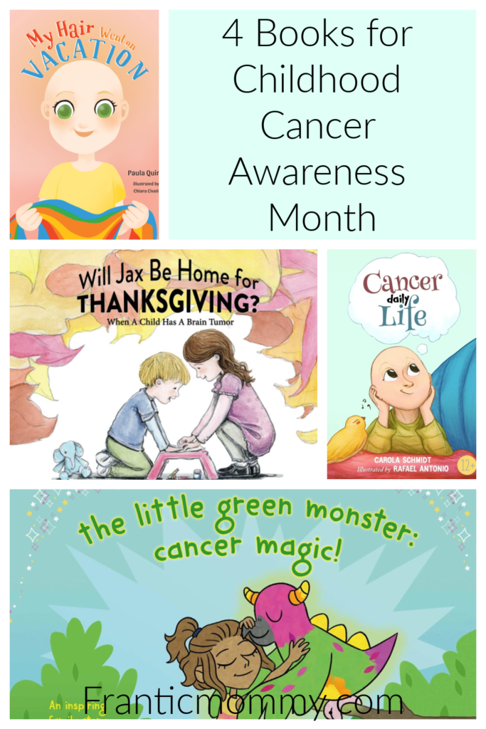 books about childhood cancer