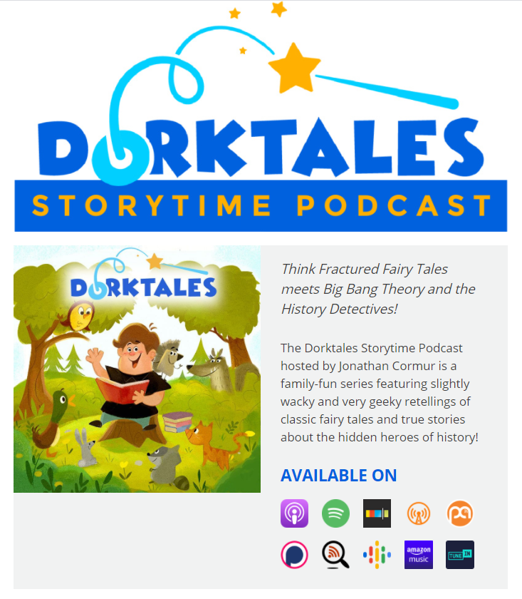 The Awesomeness of Dorktales Storytime Podcast