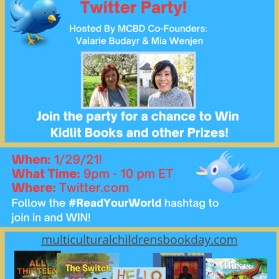 How to Participate in Multicultural Children's Book Day Twitter Party 2021