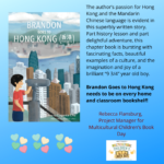 Brandon Goes to Hong Kong Diverse Chapter Book Book Launch!